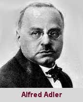 Alfred Adler, médecin et psychologue (1870-1937).