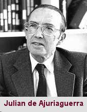 Julian de Ajuriaguerra, neuropsychiatre (1911-1993).