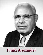 Franz Alexander, psychanalyste (1891-1964).
