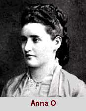 Bertha Pappenheim, surnommée Anna O (1859-1936), une patiente de Breuer.