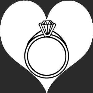 La bague de fiançailles est particulièrement révélatrice de la solidité d'un couple.