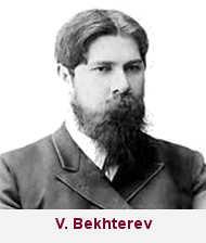 Vladimir Bekhterev est un médecin Russe qui soignait les alcooliques à l'aide de l'hypnose.