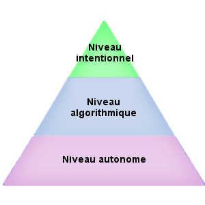 Parmi les trois niveaux de mécanismes psychologiques (le niveau autonome, le niveau algorithmique et le niveau intentionnel), seul le troisième est concerné par la bêtise.