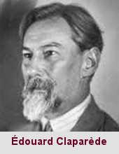 Édouard Claparède, médecin et psychologue (1873-1940).