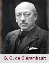 Gaëtan Gatian de Clérambault, psychiatre et médecin (1872-1934).
