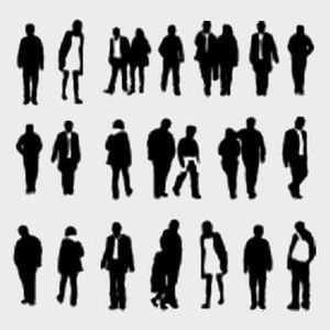 On peut facilement associer la démarche aux traits de personnalité, en fonction de l'amplitude des mouvements au niveau des hanches, des épaules...