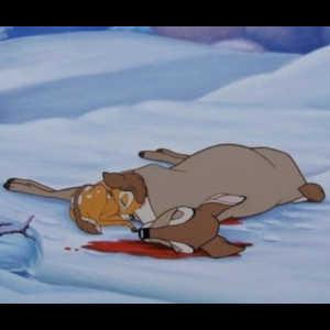 Les personnages des contes et des dessins animés meurent beaucoup plus fréquemment que dans les films pour adultes.