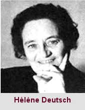 Hélène Deutsch, psychiatre et psychanalyste (1884-1984).
