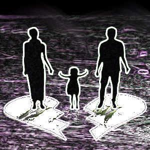 Le divorce est un événement difficile à vivre pour les enfants qui risquent alors d'être plus anxieux, de déprimer, d'avoir des accès de colère, etc.