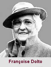 Françoise Dolto, psychiatre et psychanalyste (1908-1988).