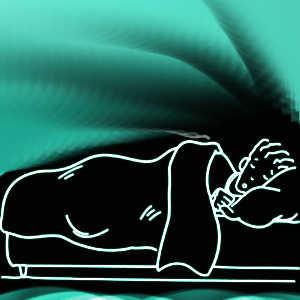 Pendant notre sommeil, nous avons tendance à perdre du poids en raison de l'activité intense de notre cerveau.