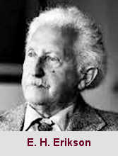 Erik Homberger Erikson, psychanalyste (1902-1994).