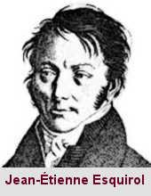 Jean-Étienne Dominique Esquirol, psychiatre (1772-1840).