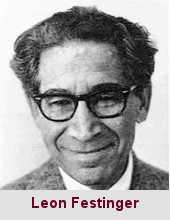 Leon Festinger, psychosociologue (1919-1989).