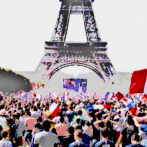 Le football mobilise des populations entières, notamment durant la Coupe du monde, ce qui renforce considérablement l'attrait touristique des pays concernés.