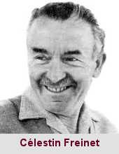 Célestin Freinet, pédagogue (1896-1966).