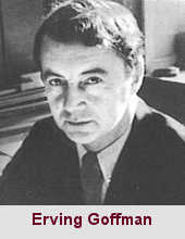 Erving Goffman, psychosociologue (1922-1982).