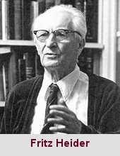 Fritz Heider, psychosociologue (1896-1988).