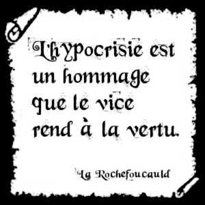 L'hypocrisie met en jeu des processus complexes difficiles à détecter.
