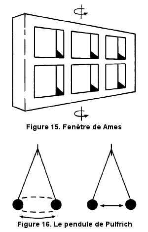 Les illusions de mouvement.