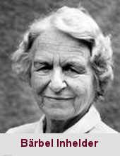 Bärbel Inhelder, psychologue (1913-1997).