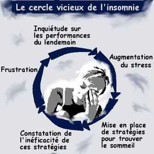 Une gestion mal adaptée de son insomnie risque de placer l'insomniaque dans un cercle vicieux.
