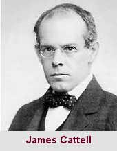 James McKeen Cattell, psychologue (1860-1944).