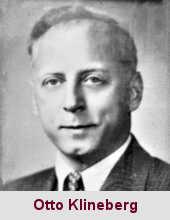Otto Klineberg, psychosociologue (1899-1992).