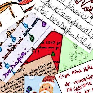 La façon qu'adoptent les enfants pour s'adresser au Père Noël (pour lui parler ou lui écrire) est révélatrice à bien des égards.