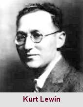 Kurt Lewin, psychosociologue (1890-1947).