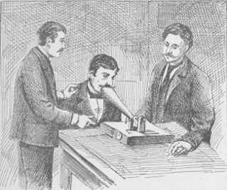 La machine à mesurer la pensée. — Expériences au Laboratoire de Princeton, avec le professeur Baldwin.
