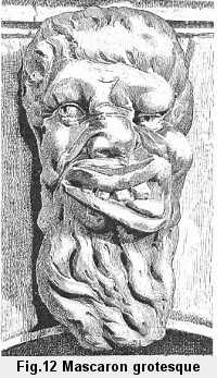 Figure 12: Mascaron grotesque de l'église Santa-Maria Formosa, à Venise.