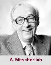 Alexander Mitscherlich, médecin et psychanalyste (1908-1982).