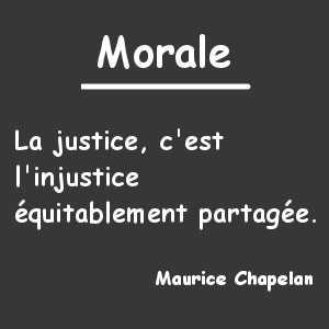Le retour de la morale laïque à l'école est en cours de réflexion.