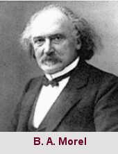 Bénédict-Augustin Morel, médecin aliéniste (1809-1873).