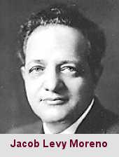 Jacob Levy Moreno, psychosociologue (1889-1974).