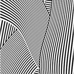 Les motifs représentant des bandes étroites noires et blanches sont susceptibles de déclencher des crises d'épilepsie.