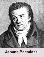 Johann Heinrich Pestalozzi, pédagogue (1746-1827).