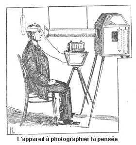 L'appareil à photographier la pensée.