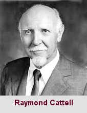 Raymond Bernard Cattell, psychologue (1905-1998).