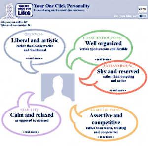 Aujourd'hui, le recrutement du personnel s'effectue de plus en plus à l'aide d'outils en ligne tels que YouAreWhatYouLike de Facebook, et d'informations personnelles glanées sur internet.