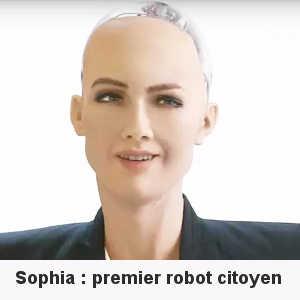 Sophia est la première robote citoyenne de l'Arabie Saoudite.