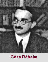 Géza Róheim, psychanalyste (1891-1953).