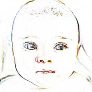Le schéma enfantin se caractérise par des formes rondes, une tête disproportionnée et une démarche pataude, et a la particularité de rendre si mignons ces petits êtres humains ou animaux.