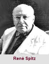 René Arpad Spitz, psychanalyste (1887-1974).