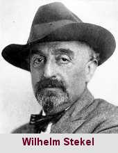 Wilhelm Stekel, médecin et psychanalyste (1868-1940).