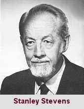 Stanley Smith Stevens, psychologue (1906-1973).