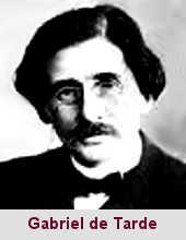 Gabriel de Tarde, sociologue (1843-1904).