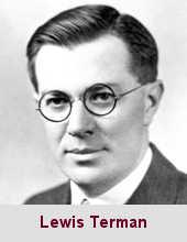 Lewis Madison Terman, psychologue (1877-1956).