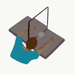 Voir sa main paralysée bouger à nouveau via le reflet d'un miroir peut diminuer la douleur de la paralysie ou de l'amputation.